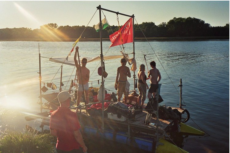 the Dresden raft